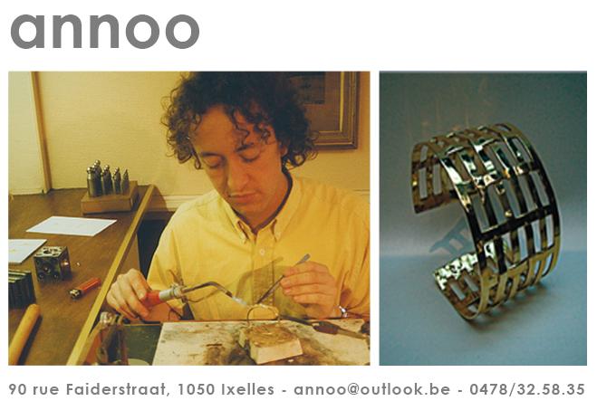 ANNOO - Olivier Vanhaecke jewellery